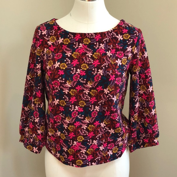Floral Top S XS Maeve NWOT Anthropologie